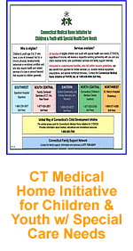 CT Medical Home Initiative for Children and Youth with Special Health Care Needs