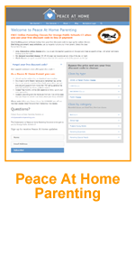 Peace At Home Parenting