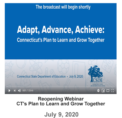 Webinar - CT's Plan to Learn and Grow Together - 07-09-2020